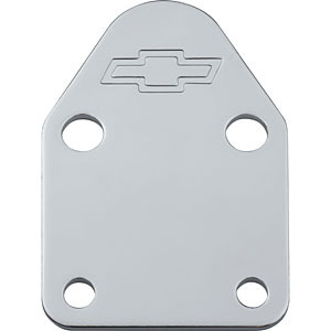 Officially Licensed GM Fuel Pump Block Off Plates