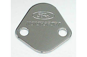 Officially Licensed Ford Racing Fuel Pump Block Off Plate