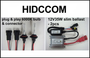 2011-2012 Can Am Commander 35W HID Light