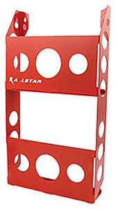 Magazine Holder Double Rack Red