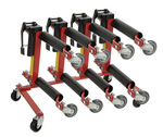 Hydraulic Vehicle Positioning Jacks 4-pc