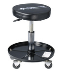 Roll-Around Stool with Pneumatic Seat