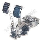 Deluxe Hydraulic Pedals 3/4-7/8 HD Polished No Roller