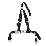 Safety Harness Deluxe 3-Point 2 Inch  Shoulder Pads