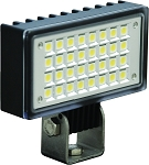 3.4 x 1.9 Inch Utility Flood Light with 32 LEDs Single Stud Mount