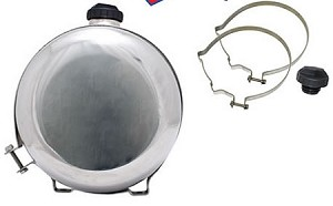 Stainless Steel 7.7-Gallon Gas Tank Kit 10x24