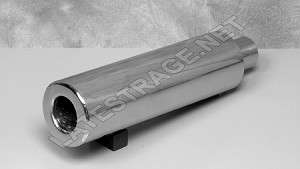 Exhaust Long Dong Muffler 2x17