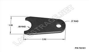 Radiused Tab Seat Mount