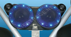 Four Speaker Sound Wedge 2005-2007 Rhino Unamplified LED